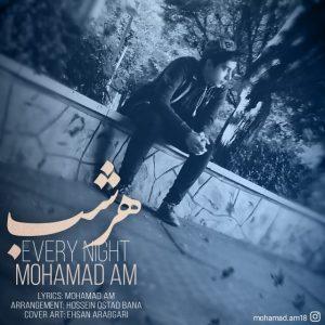 دانلود آهنگ جدید محمد ای ام به نام هر شب
