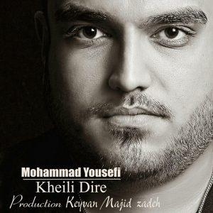 دانلود آهنگ جدید محمد یوسفی به نام خیلی دیره