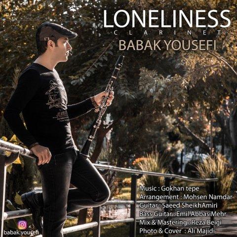 دانلود آهنگ جدید بابک یوسفی به نام تنهایی