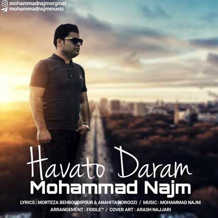 دانلود آهنگ جدید هواتو دارم از محمد نجم